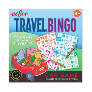 Travel Bingo, eeBoo