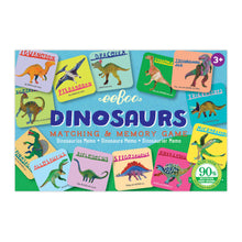Load image into Gallery viewer, Dinosaurs Memory & Matching Game, eeboo