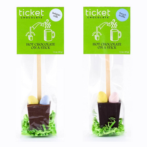 Easter Eggs Hot Chocolate on a Stick