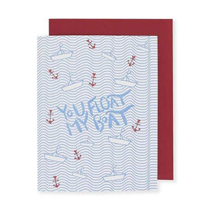 Float My Boat, Folio Press & Paperie