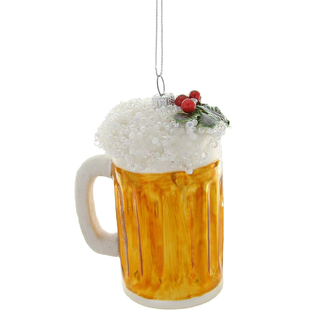 Hoppy New Year Beer Ornament