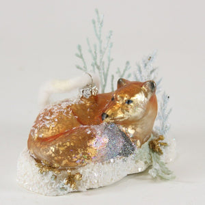 Fab Fox Ornament