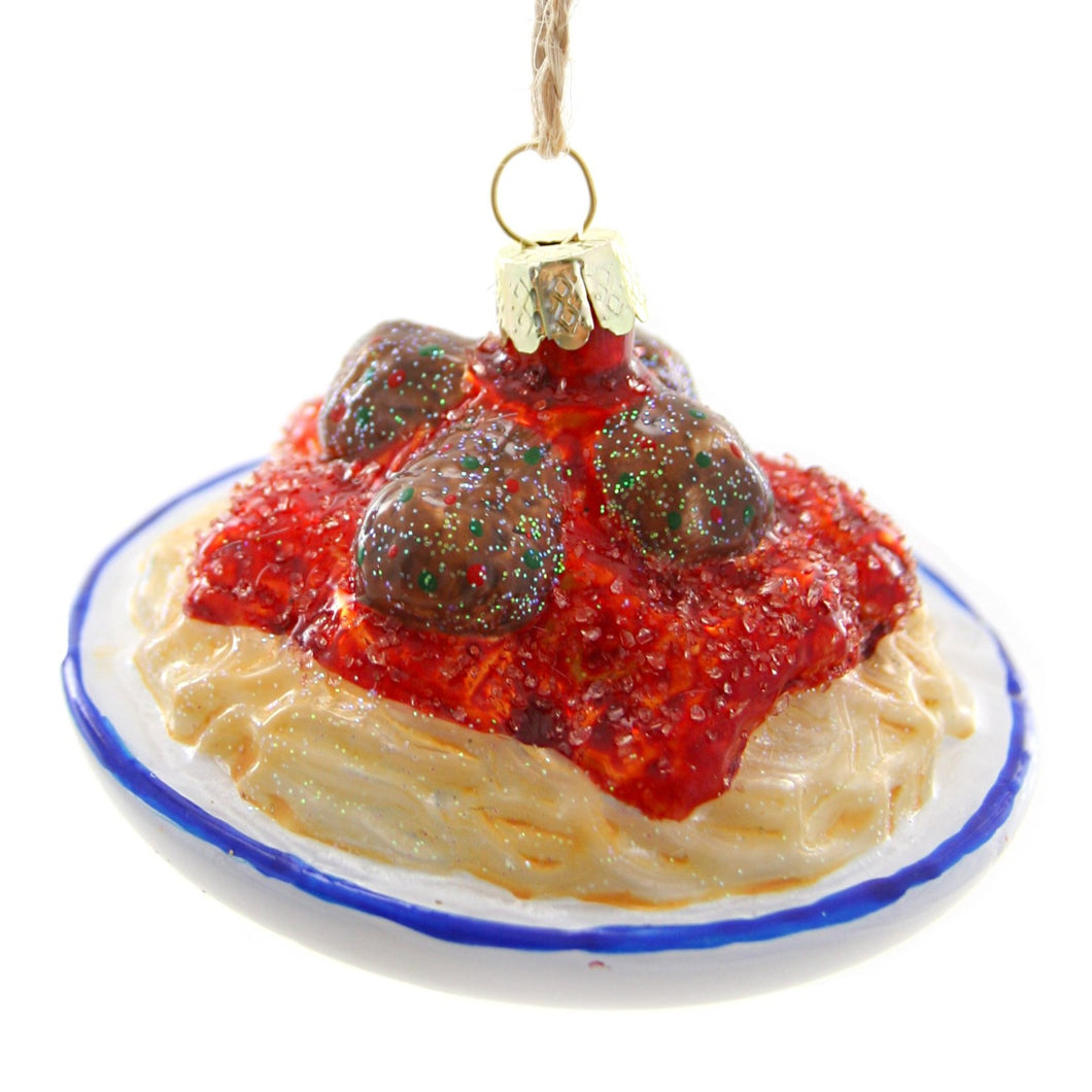 Spaghetti and Meatballs Ornament