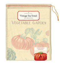 Load image into Gallery viewer, Vegetable Garden Tea Towel