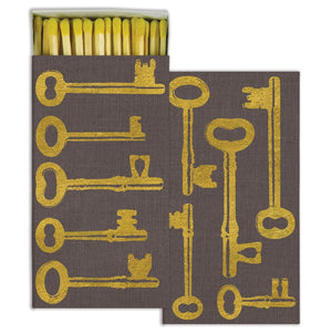Gold Foil Keys Matches