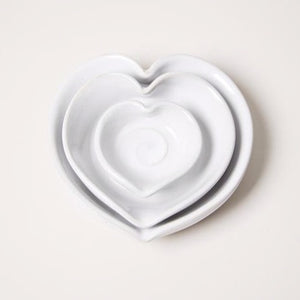 Heart Dish, Farmhouse Pottery