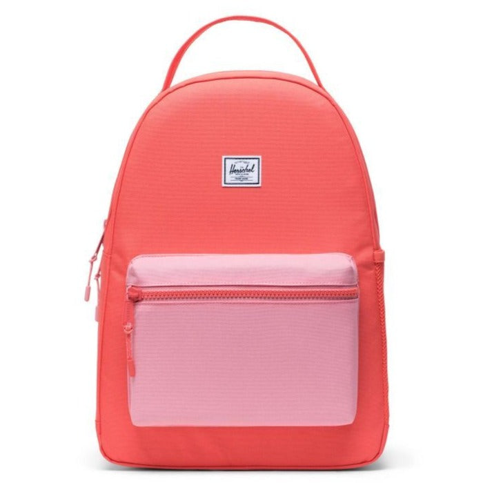 Hot Coral + Flamingo Pink Nova Youth Backpack, Herschel Supply Co.