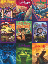 Load image into Gallery viewer, Harry Potter Book Cover Collage Puzzle