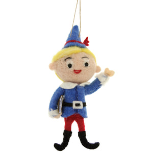 Hermey Felt Ornament