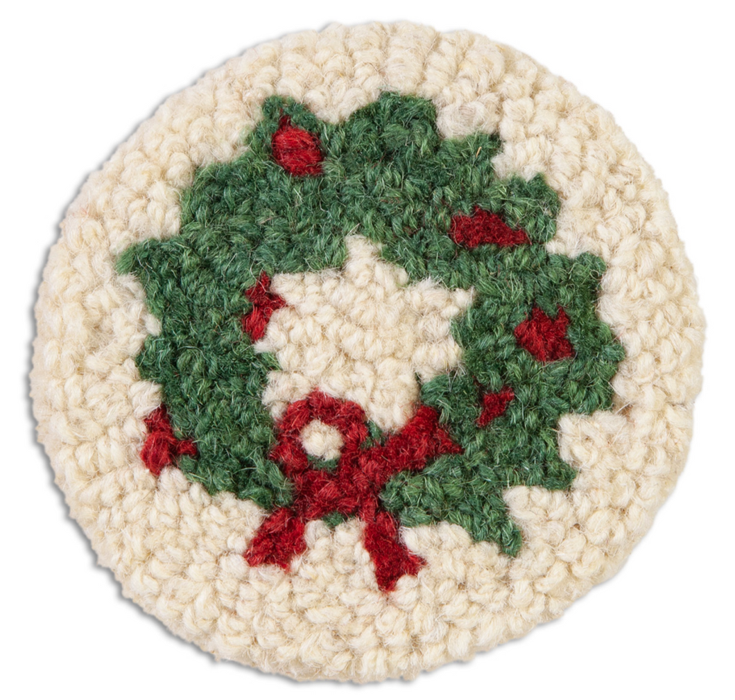 Holiday Wreath Coasters