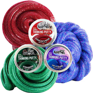 Holiday Thinking Putty Mini Tins