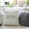 Alexandria, Virginia Pillow