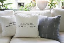 Load image into Gallery viewer, Alexandria, Virginia Pillow
