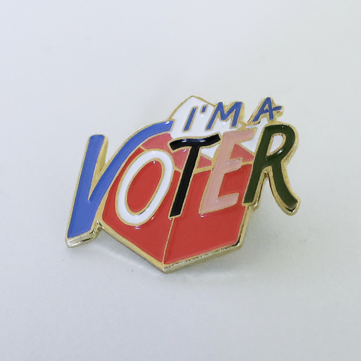 I'm A Voter Pin, Idlewild Co.