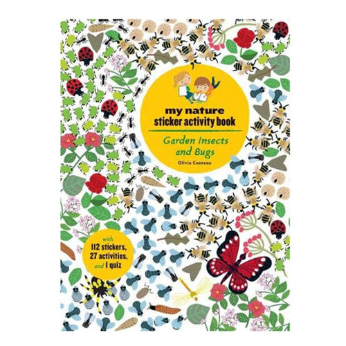 Garden Insects Sticker Book