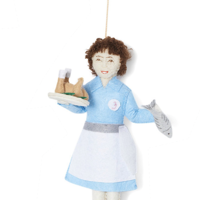 Julia Child Handmade Collectible