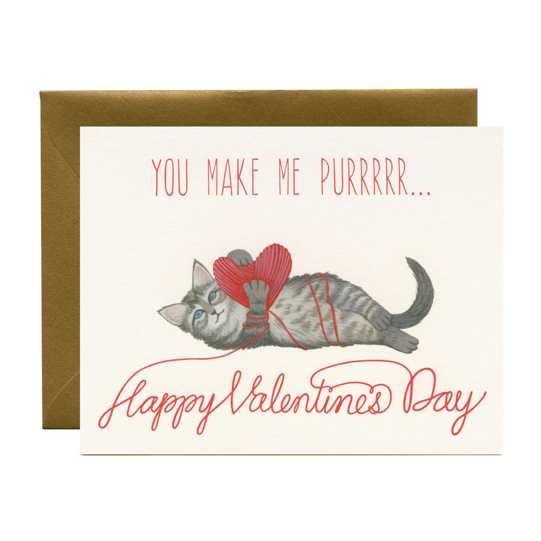 Kitten Valentine's Day, Yeppie Paper