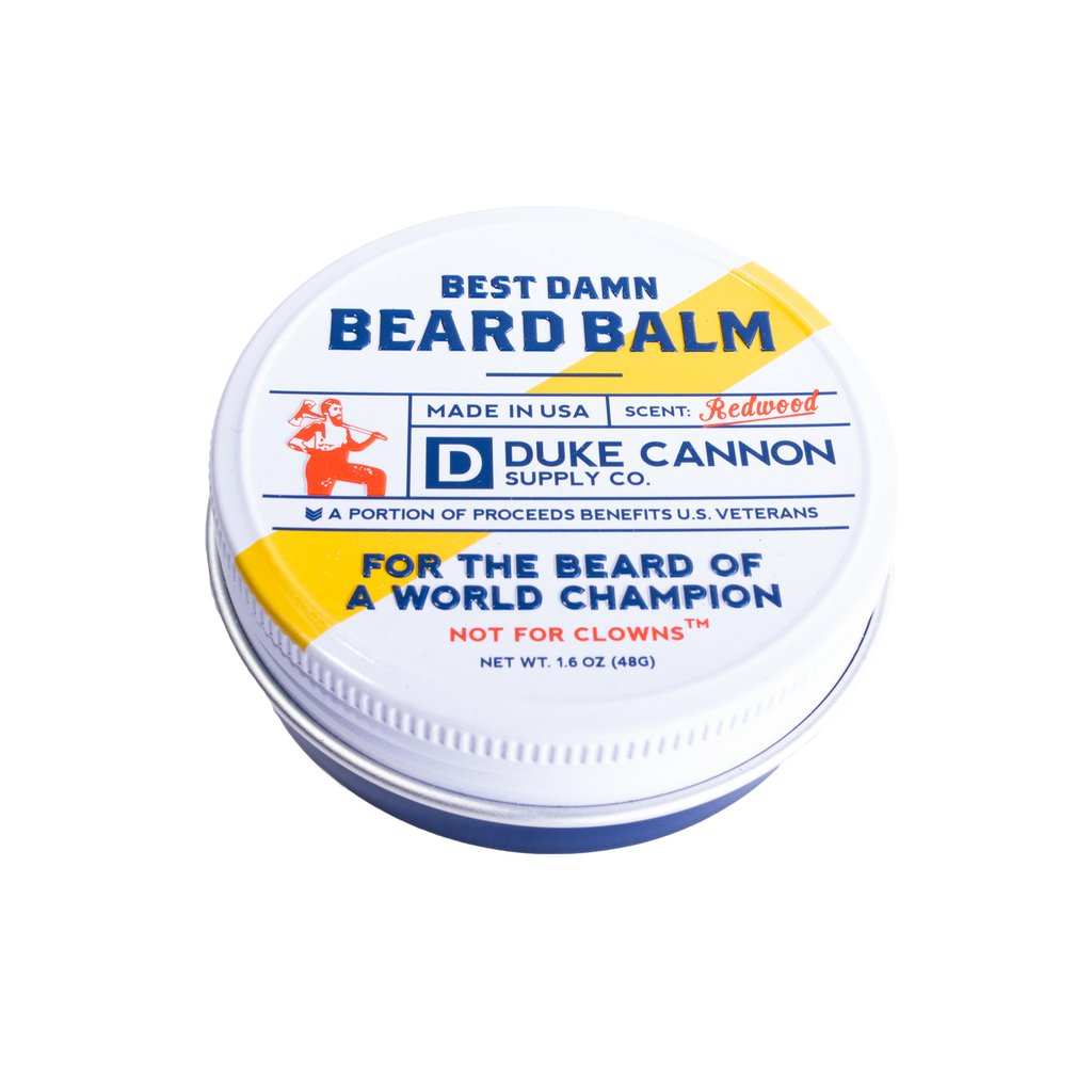 Duke Cannon, Beard Balm, Best Damn Beard Balm