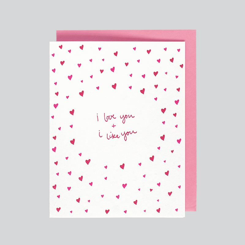 Love You & Like You, Folio Press & Paperie