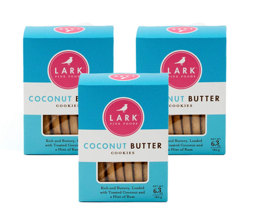 Coconut Butter Shortbread, Lark Fine Foods