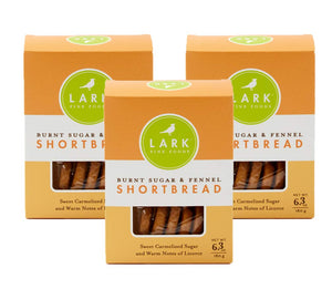 Burnt Sugar Shortbread, Lark Fine Foods