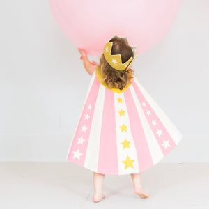 Reversible Hero Cape - Pink or Blue, Lovelane Design