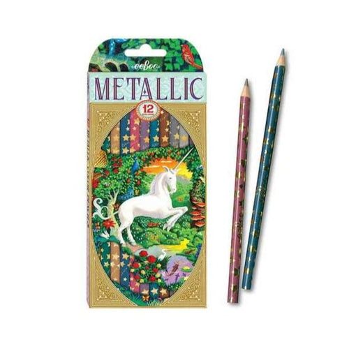 Unicorn Metallic Pencils
