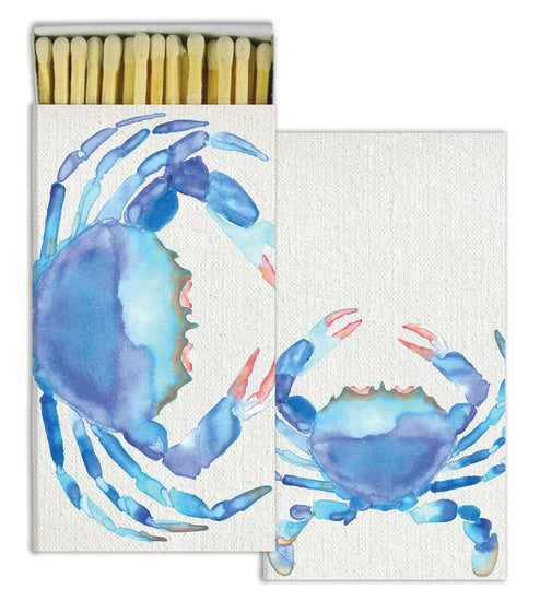 Watercolor Crab Matches