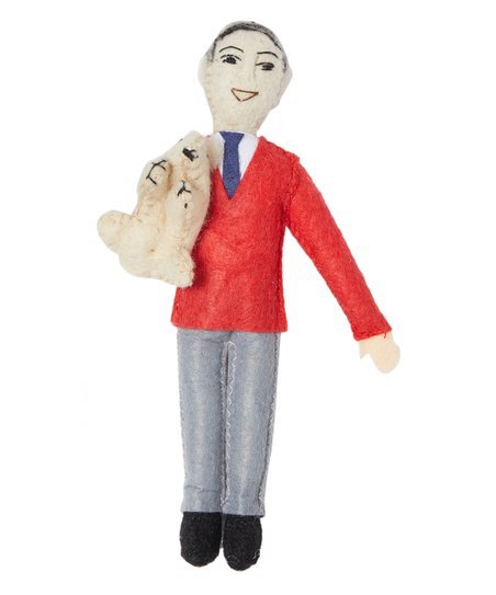 Mr. Rogers Handmade Collectible