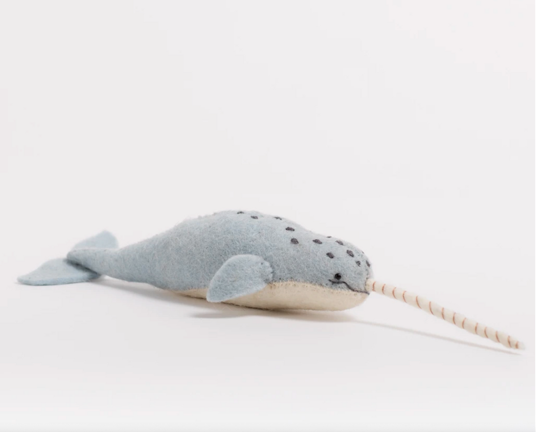 Mystical Narwhal Ornament
