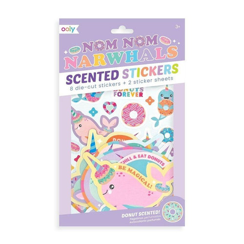 Narwhals Scented Sticker, Ooly