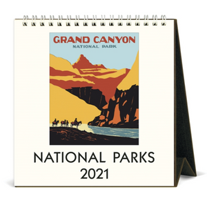 2021 National Parks Desk Calendar, Cavallini & Co.