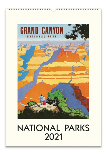 National Parks Wall Calendar, Cavallini & Co.