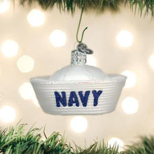 Load image into Gallery viewer, Navy Cap Ornament
