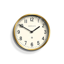 Load image into Gallery viewer, Master Edwards Small Wall Clock, Brass