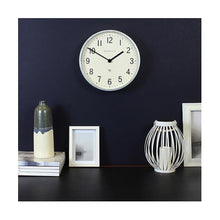 Load image into Gallery viewer, Master Edwards Small Wall Clock, Galvanized Metal