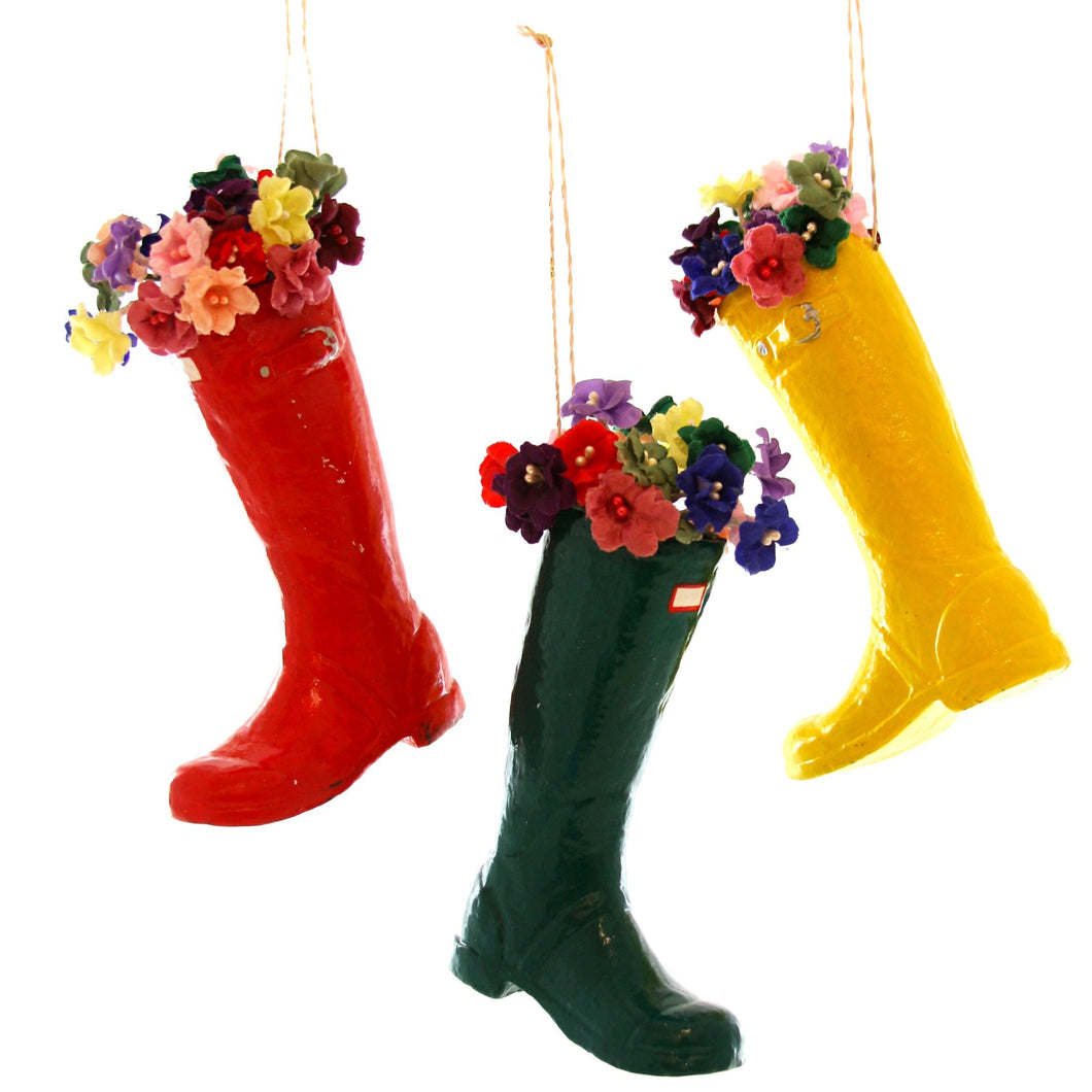 Wellie Ornament