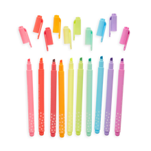 Load image into Gallery viewer, Pastel Mints Scented Highlighters S/10, Ooly