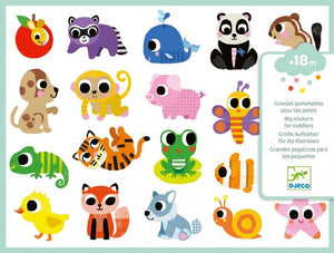 Petit Gift Stickers Baby Animals