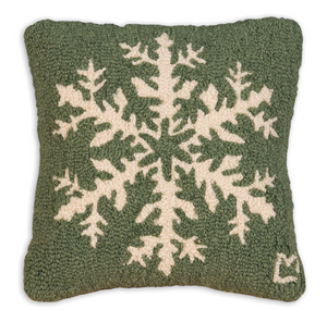 Pine Snowflake Pillow