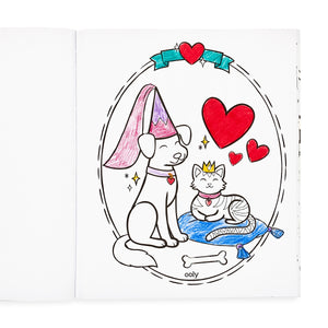 Princess & Fairies Coloring Book, Ooly