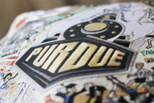 Load image into Gallery viewer, Purdue University Embroidered Pillow