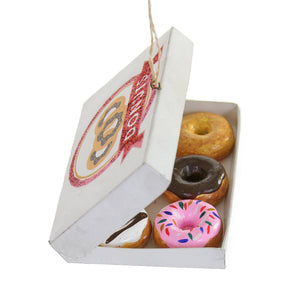 Boxed Donuts Ornament