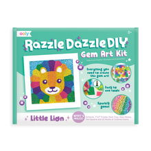 Load image into Gallery viewer, Razzle Dazzle DIY Gem Art Kit - Lil' Lion, Ooly