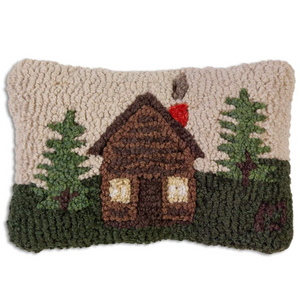 Rocky Hill Cabin Mini Pillow