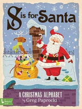 Load image into Gallery viewer, S is for Santa Claus Board Book