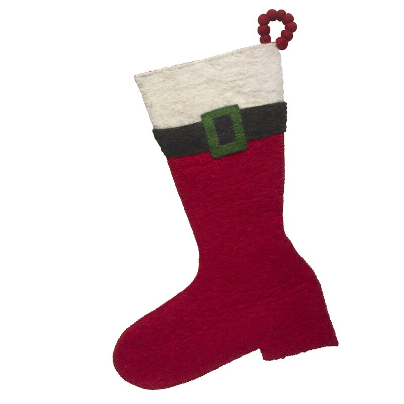 Santa Boot Stocking