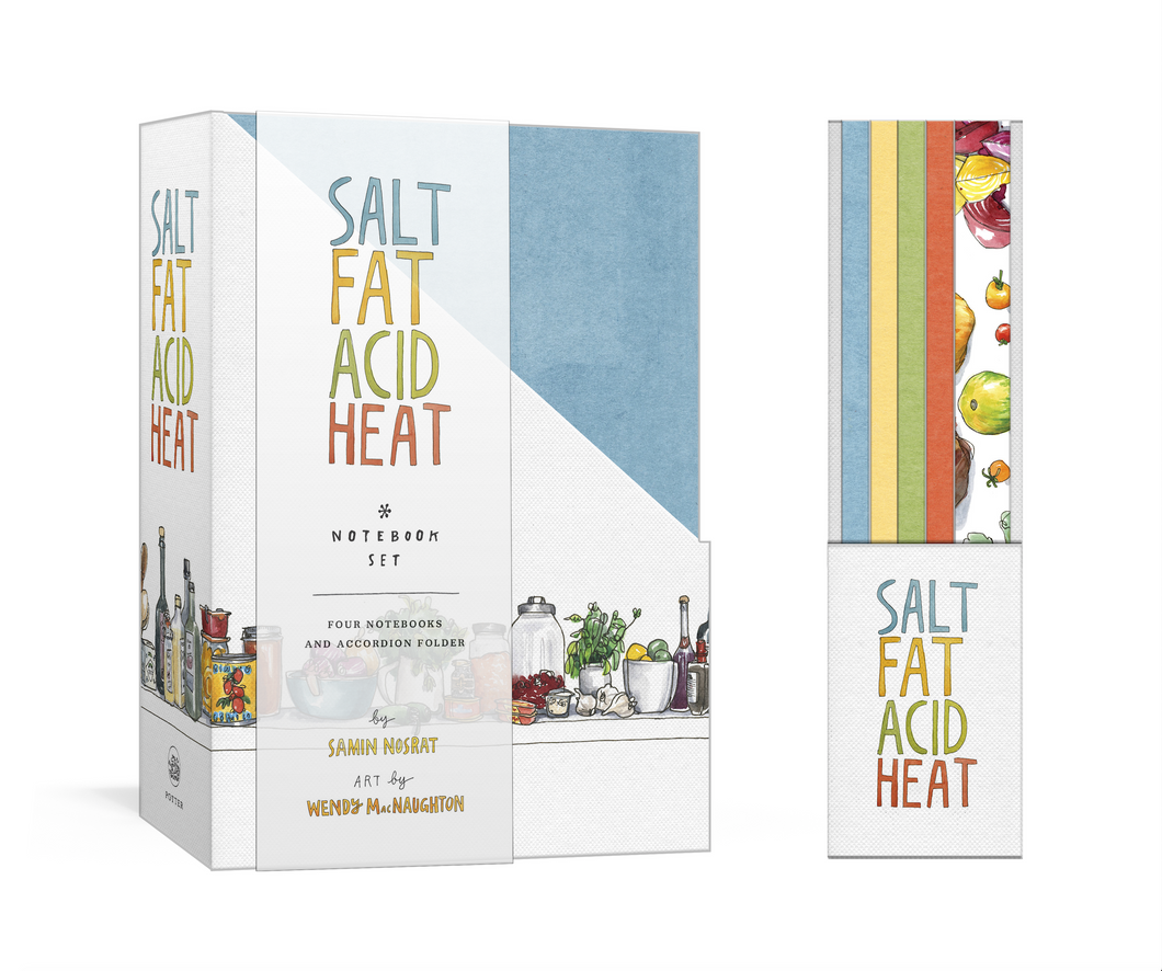 Salt, Fat, Acid, Heat Four-Notebook Set