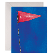 Load image into Gallery viewer, Birthday Flag Card, E. Frances Paper