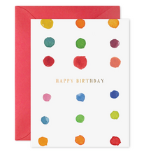 Load image into Gallery viewer, Birthday Dots Card, E. Frances Paper
